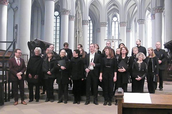 Reinald Noisten und Chor