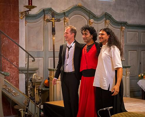 Reinald Noisten mit Darstellern Projekte Daf Derwisch