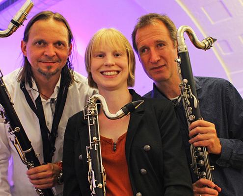Reinald Noisten Projekte Drei Bassklarinetten
