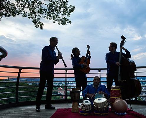 Reinald Noisten Klezmer Musik im Freien